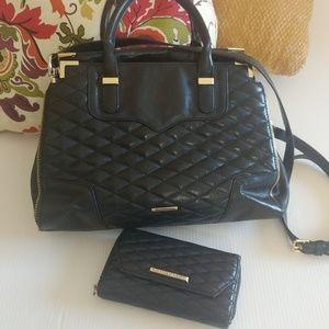 Rebecca Minkoff Leather Crossbody/handbag & Wallet